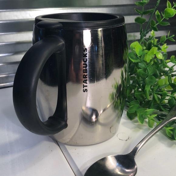 Starbucks  stainless steel barrel Mug 14oz